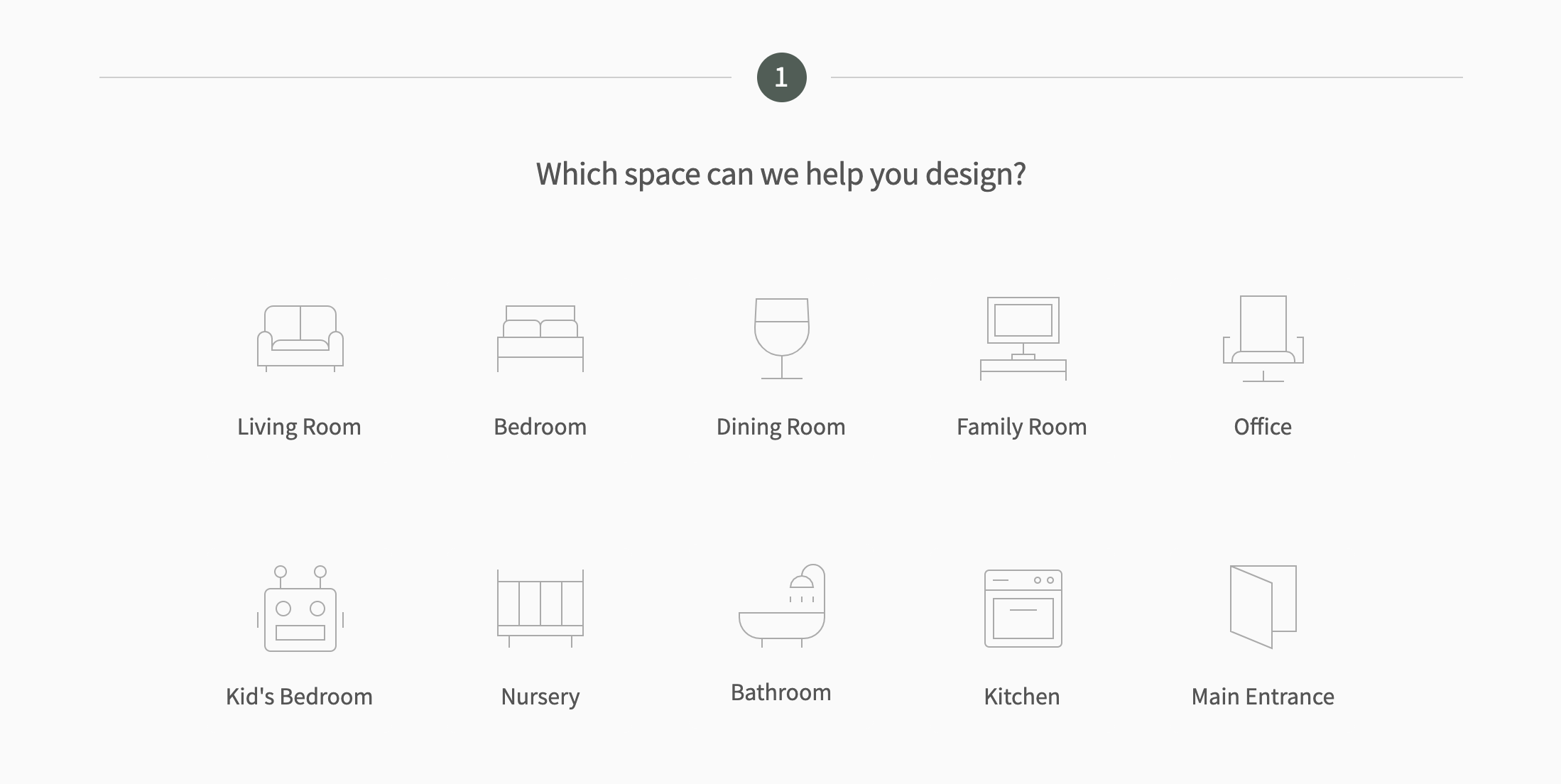 online interior design questionnaire