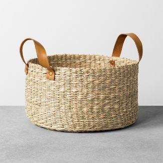 modern farmhouse basket