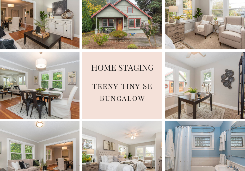 Vacant Home Staging | Teeny Tiny SE Bungalow